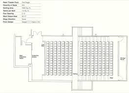 lecture hall floor plan lovely roadtrek