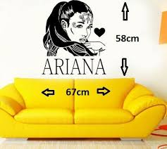 Ariana Grande Diy Wall Art Sticker Decal For Sale Online