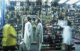 A Shoe Shop The Souq Or Market In The Old Town In The City Of ...