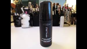 review l oreal infallible pro spray