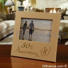 50th golden wedding anniversary frame