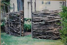Twig Fencing Dirt Simple