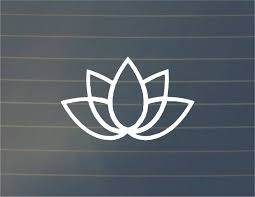 Decal Lotus Decal Car Decals Nature Decals Laptop Decals Laptop Stickers Computer Decal Macbook Decal Window Nature Decal Car Decals Spiritual Decals