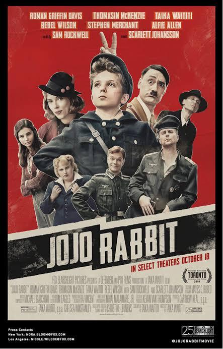 "Resultado de imagen para jojo rabbit postr"""