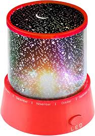 Amazon Com Red Night Lights For Kids Star Design Projector Bedside Lamp For Baby Room Kids Bedroom Decorations Toys Games
