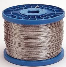 400m Spool Of 7 Stranded Heavy Duty Steel Electric Fence Wire 29 99 Farm And Garden Supplies