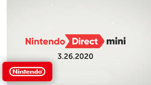 Nintendo Direct Mini 3.26.20 - YouTube
