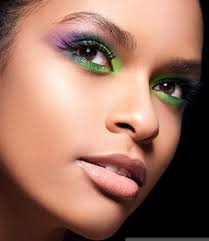 party makeup ideas multi tonal exotic