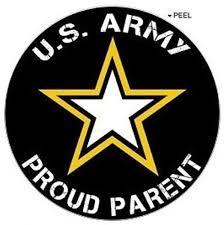Amazon Com Proud Parent United States Army Window Bumper Locker Sticker Kitchen Dining