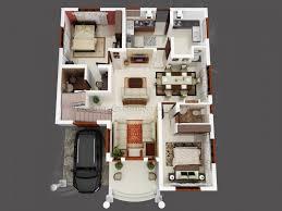 villa14 architectural house plans 3d