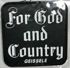 Geissele Shot Show 2019 For God And Country Bumper Sticker Decal 10 75 Hunting Accessories Hunting Sporting Goods Hunting