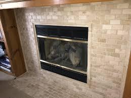 fireplace tile remodel in olathe