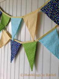 Fabric Bunting Banner Birthday Gift Handmade Party Garland Newborn Kids Room Decor Flag Pennants Decorations By Hatchlings By Rachel Catch My Party
