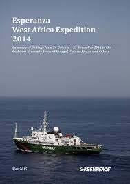 Esperanza west africa expedition 2014 by China Greenpeace - issuu