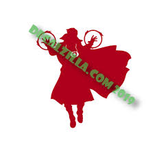 Doctor Strange Decal Sticker For Cars Laptops Phones And More