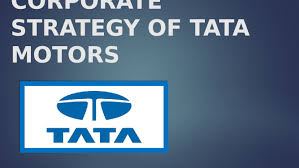 corporate strategy of tata motors tata