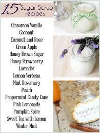 15 homemade sugar scrub recipes