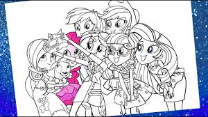 my little pony equestria s coloring