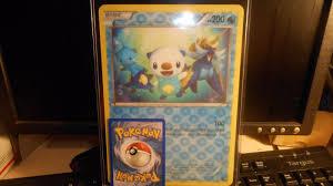 Oshawott Pokemon Promo 3 D RARE Oversized Jumbo Card for sale ...