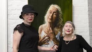 Kylie Melinda Smith wins women's portraiture award for painting of Eileen  Kramer, 104 | The Senior | 2259
