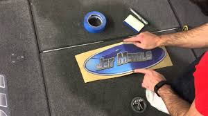 Bass Boat Carpet Graphics Install By Zdecals Youtube