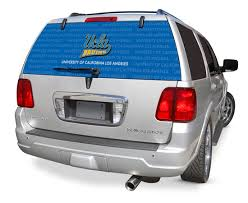 Ucla Bruins Decals Ucla Bruins Window Graphics Ucla Bruins Ncaa Logo Glass Tatz Rearz Back Windshield Graphic Decal