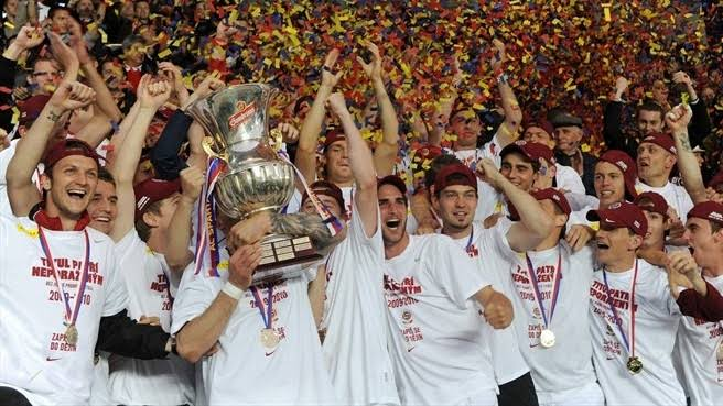 Image result for Sparta Prague celebrate league champions""