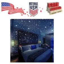 Bollepo Glow In The Dark Stars Dots 3d Wall Stickers Kids Bedroom Room Ceiling Gift