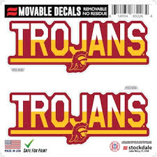 University Of Southern California Decals License Plate Trojans Auto Accessories Shop Cbssports Com