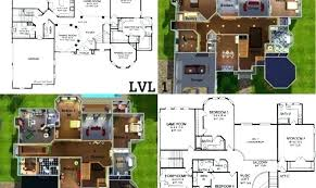 the sims house plans