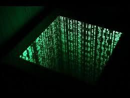 the matrix infinity mirror effect