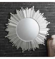 large round sunburst mirror hetti 100