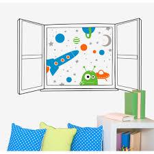 Wall Decals Thewonderwalls Decorative Vinyl Decal Space Window