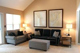 living room paint colors with brown