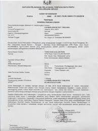 Surat Pernyataan Kedudukan Usaha Badan Usaha Pdf