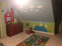 Pin By Amanda Wibbenmeyer On Andrew S Farm Theme Bedroom Farm Bedroom Kids Farm Bedroom Boy Toddler Bedroom