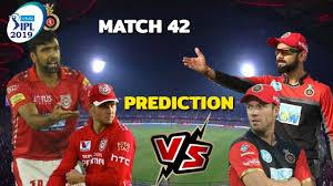 VIVO IPL 2019 RCB VS KXIP MATCH 42 ...