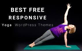 responsive yoga wordpress themes