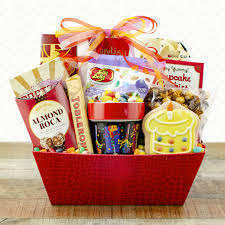 snack sweets gift basket