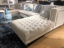 3pc blue velvet sectional sofa modern