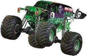 Amazon Com Fathead Grave Digger Huge Officially Licensed Monster Jam Removable Wall Decal Home Kitchen