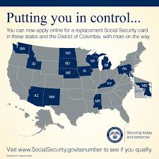 need a replacement social security card