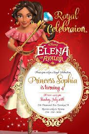 Princesa Elena De Avalor Invitacion Invitacion De Elena Etsy