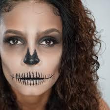 simple skeleton makeup you saubhaya