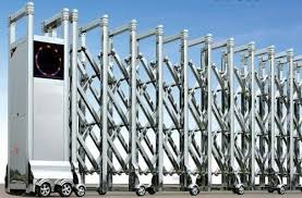 Retractable Folding Gate Automatic Retractable Gate Manufacturer From Mumbai
