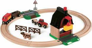 brio trains 33719 farm railway set for