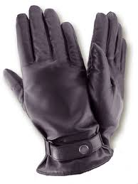 black leather gloves mens winter gloves