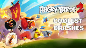 Angry Birds 2 | Coolest Crashes | Music Compilation 1! - YouTube