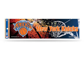 New York Knicks Bumper Sticker Nba Officially Licensed Custom Sticker Shop
