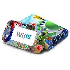 Skin Decal Cover For Nintendo Wii U Console Gamepad Super Mario Galaxy Yoshi Wii U Nintendo Wii U Console Super Mario Galaxy